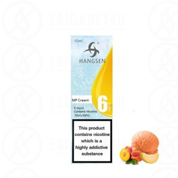 Melon Peach Cream eLiquid Hangsen